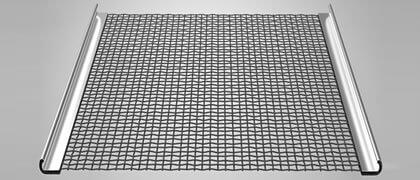 Crimp mesh