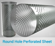 Round Hole Perforated