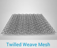 Twilled Weave Mesh